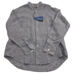 Harmont & Blaine Mens Long Sleeve Button Shirt